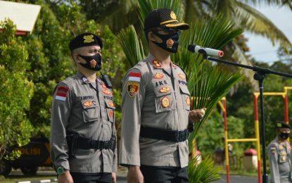 41 Personil Polres Natuna Naik Pangkat