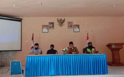Kades Batu Gajah Gelar Musyawarah Terkait Penetapan Penerima BLT DD Tahun 2021