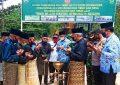 Tradisi Tepung Tawar Awali Perbukaan Pra TMMD Ke-110 Kodim 0318/Natuna