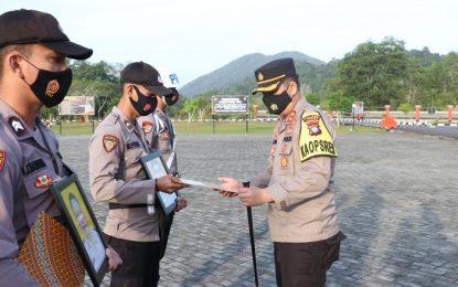 2 Polisi di Lingga Dipecat dengan Tidak Hormat karena Terlibat Narkoba