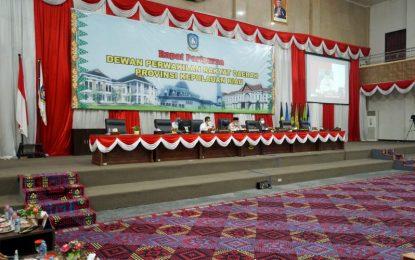 DPRD Kepri Gelar Rapat Paripurna, Jabatan Isdianto Berakhir 12 Februari