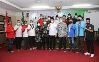 Hadiri Pelantikan HMI Cabang Batam, Rudi Ajak Rajut Kebersamaan dan Sukseskan Pembangunan Batam