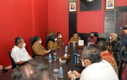 Ansar-Marlin Silaturahmi ke DPRD Kepri, Bersama Memacu Pembangunan Kepri
