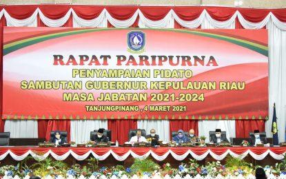 Dihadapan DPRD Kepri, Ansar-Marlin Sampaikan Tujuh Program Unggulan